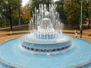 Статический фонтан - cometepool.ru