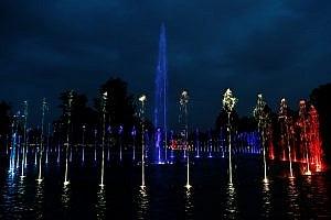 Подсветка для фонтанов