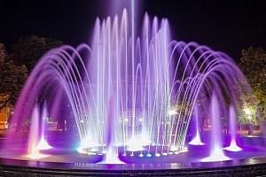 Динамический фонтан