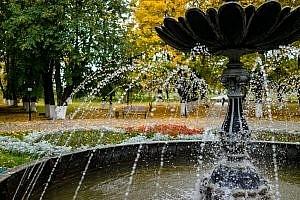 Струйный фонтан